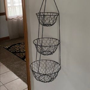 Other - Hanging Fruit Basket.New without tag.